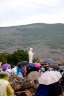 Medjugorje, Esaltazione della Croce 2016: Statua della Regina della Pace sul Podbrdo – Foto di Sardegna Terra di pace – Tutti i diritti riservati