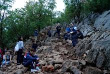 Medjugorje, Esaltazione della Croce 2016: Via crucis sul Krizevac (2) – Foto di Sardegna Terra di pace – Tutti i diritti riservati