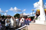 Incensazione della statua – Foto di Sardegna Terra di pace – Tutti i diritti riservati