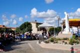 Momento della recita del Rosario – Foto di Sardegna Terra di pace – Tutti i diritti riservati