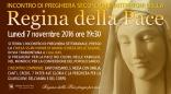 Locandina Incontro di Preghiera Settimanale del 7 Novembre 2016