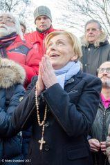 Medjugorje: Mirjana durante l'apparizione del 2 Gennaio 2017 - Foto di Mateo Ivanković – Tutti i diritti riservati
