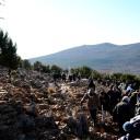 Medjugorje, Capodanno 2017: collina delle apparizioni – Foto di Sardegna Terra di pace – Tutti i diritti riservati