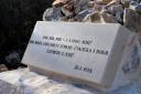 Medjugorje, Capodanno 2017: lapide presso la croce del 26 – Foto di Sardegna Terra di pace – Tutti i diritti riservati