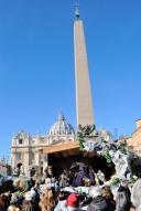 Roma, Capodanno 2017: presepe a san Pietro (2) – Foto di Sardegna Terra di pace – Tutti i diritti riservati