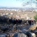 Medjugorje, Capodanno 2017: rosario al Podbrdo – Foto di Sardegna Terra di pace – Tutti i diritti riservati