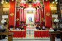 Roma, Capodanno 2017: chiesa sant'Andrea delle Fratte, cappella della Madonna – Foto di Sardegna Terra di pace – Tutti i diritti riservati