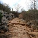 Medjugorje, Capodanno 2017: sentiero di salita al Krizevac – Foto di Sardegna Terra di pace – Tutti i diritti riservati