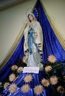 Medjugorje, Capodanno 2017: statua della Madonna di Lourdes – Foto di Sardegna Terra di pace – Tutti i diritti riservati