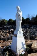 Medjugorje, Capodanno 2017: statua della Regina della pace sul Podbrdo (2) – Foto di Sardegna Terra di pace – Tutti i diritti riservati