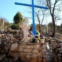 Medjugorje, Capodanno 2017: statua della Madonna alla Croce blu (3) – Foto di Sardegna Terra di pace – Tutti i diritti riservati