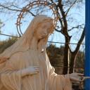 Medjugorje, Capodanno 2017: statua della Madonna alla Croce blu – Foto di Sardegna Terra di pace – Tutti i diritti riservati