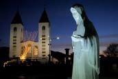 Medjugorje, Capodanno 2017: statua regina della Pace (2) – Foto di Sardegna Terra di pace – Tutti i diritti riservati