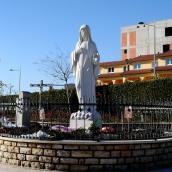 Medjugorje, Capodanno 2017: statua regina della Pace – Foto di Sardegna Terra di pace – Tutti i diritti riservati