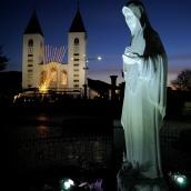 Medjugorje, Capodanno 2017: statua regina della Pace (1) – Foto di Sardegna Terra di pace – Tutti i diritti riservati