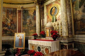 Roma, Capodanno 2017: tomba della Beata Elisabetta Sanna in san Salvatore in onda (4) – Foto di Sardegna Terra di pace – Tutti i diritti riservati