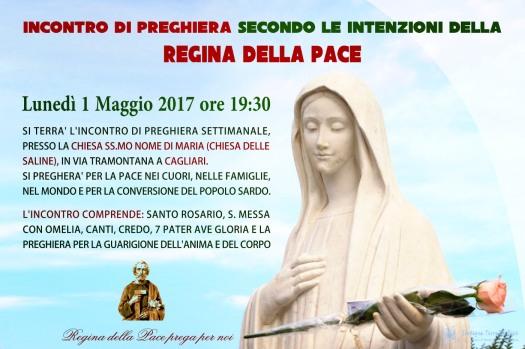 Locandina Incontro di Preghiera Settimanale del 01 Maggio 2017 (2)