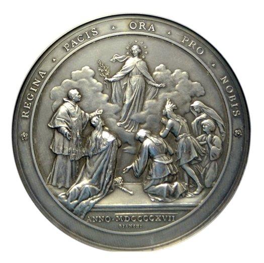 Medaglia Regina Pacis di Benedetto XV