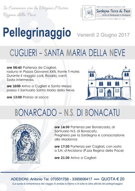 Pellegrinaggio Sardegna 2017