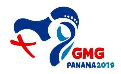 """Logo Ufficiale """"Giornata Mondiale della Gioventù 2019"""" - Copyright di panama2019.pa - Tutti i diritti riservati"""