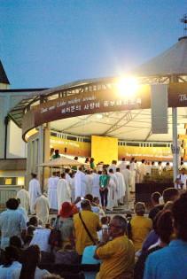Medjugorje, Mladifest 2017: Altare esterno (14) – Foto di Sardegna Terra di Pace – Tutti i diritti riservati