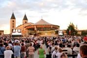 Medjugorje, Mladifest 2017: Altare esterno (3) – Foto di Sardegna Terra di Pace – Tutti i diritti riservati