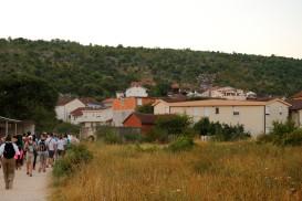 Medjugorje, Mladifest 2017: Sentiero delle vigne – Foto di Sardegna Terra di Pace – Tutti i diritti riservati