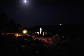 Medjugorje, Anniversario 2017: Statua regina della Pace sul Podbrdo (6) – Foto di Sardegna Terra di Pace – Tutti i diritti riservati