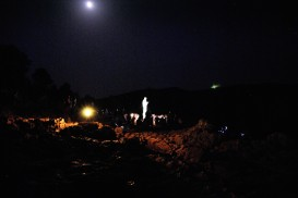 Medjugorje, Mladifest 2017: Statua regina della Pace sul Podbrdo (6) – Foto di Sardegna Terra di Pace – Tutti i diritti riservati