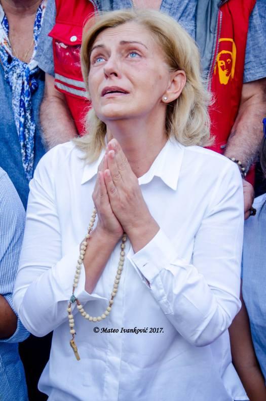 Apparizione a Mirjana del 2 Settembre 2017 - Foto di Mateo Ivanković – Tutti i diritti riservati