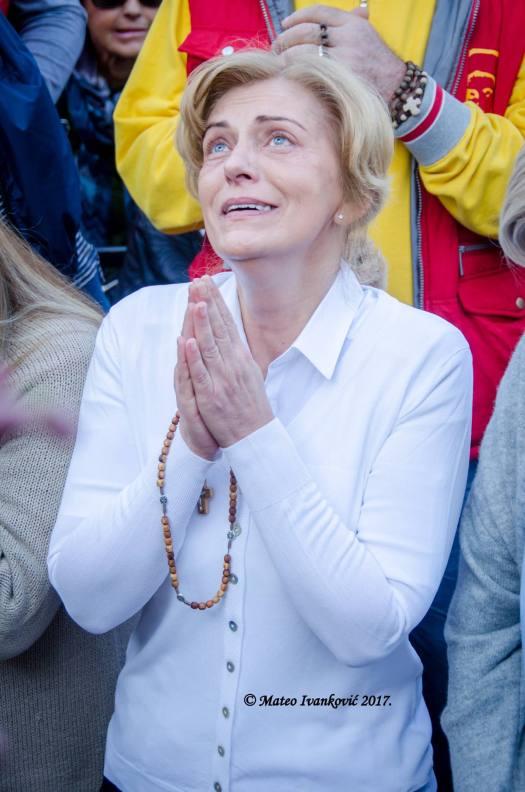 Apparizione a Mirjana del 2 Ottobre 2017 - Foto di Mateo Ivanković – Tutti i diritti riservati