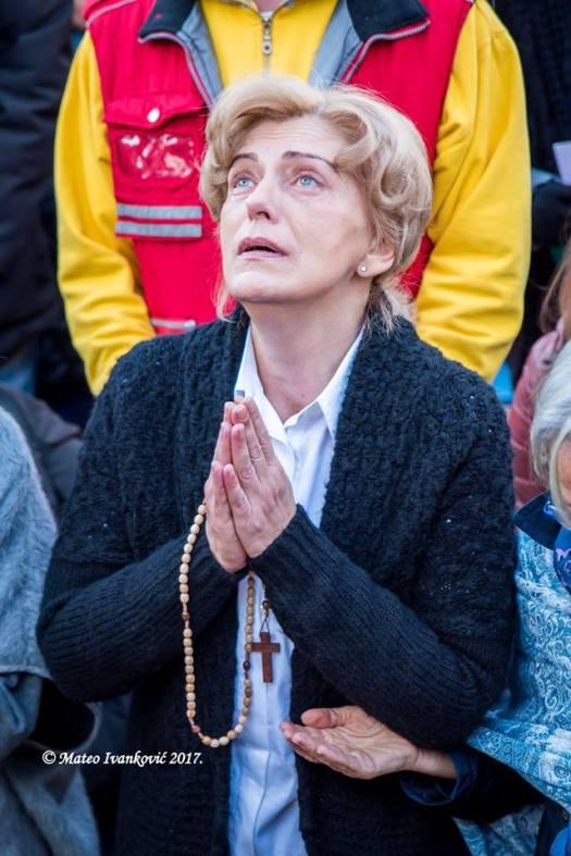 Apparizione a Mirjana del 2 Novembre 2017 - Foto di Mateo Ivanković – Tutti i diritti riservati