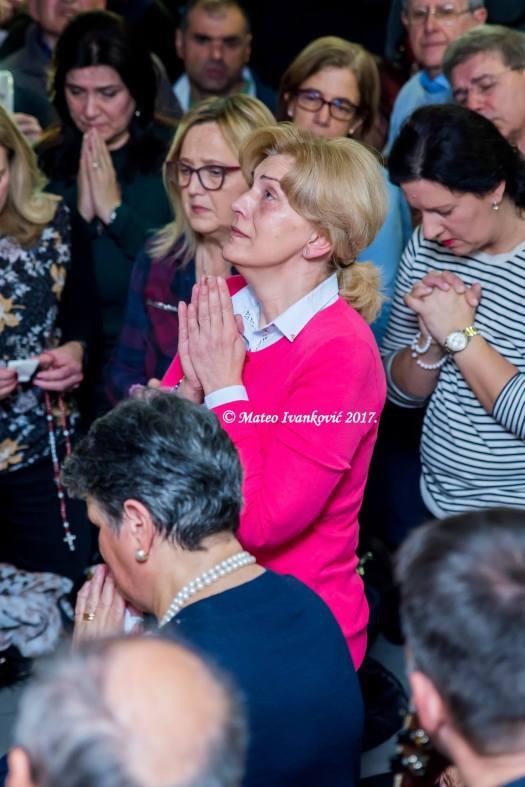 Apparizione a Mirjana del 2 Dicembre 2017 - Foto di Mateo Ivanković – Tutti i diritti riservati