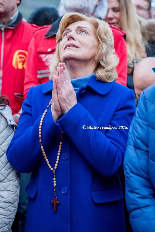 Apparizione a Mirjana del 2 Gennaio 2018 - Foto di Mateo Ivanković – Tutti i diritti riservati