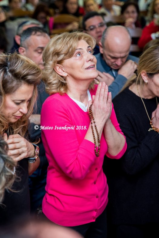 Apparizione a Mirjana del 2 Febbraio 2018 - Foto di Mateo Ivanković – Tutti i diritti riservati