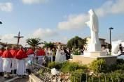 Benedizione della Statua