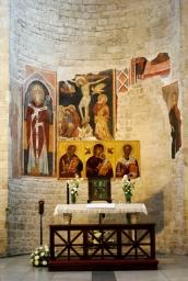 Interno Santuario san Nicola di Bari (2) - Foto di Sardegna Terra di pace – Tutti i diritti riservati