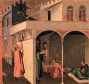 Scene della vita di San Nicola - Opera di Ambrogio Lorenzetti - Dominio Pubblico