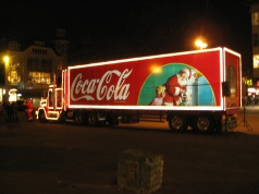 Camion natalizio della Coca Cola - Foto di Husky - Licenza CC BY 2.5