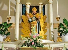 Statua di San Nicola a San Nicolò d'Arcidano - Foto di Sardegna Terra di Pace - Tutti i diritti riservati