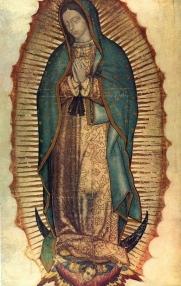 Vergine di Guadalupe - Pubblico Dominio