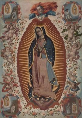 Vergine di Guadalupe - Opera di Luis Beruecco - Pubblico Dominio