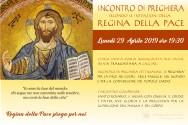 Locandina Incontro di Preghiera Settimanale del 29 Aprile 2019