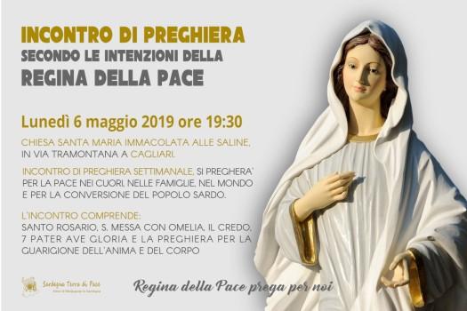 Locandina Incontro di Preghiera Settimanale del 6 Maggio 2019