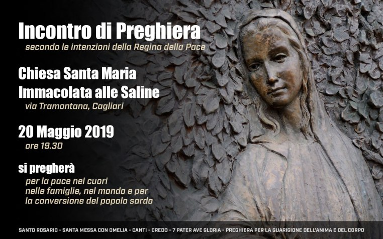 Incontro Preghiera Amici Medjugorje Sardegna 20 Maggio 2019