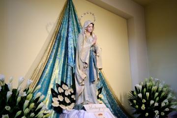 Medjugorje, Anniversario Apparizioni 2019: Statua Madonna di Lourdes (2)
