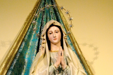 Medjugorje, Anniversario Apparizioni 2019: )Statua Madonna di Lourdes (4)