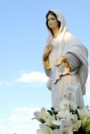 Medjugorje, Anniversario Apparizioni 2019: Statua Regina della Pace (3)