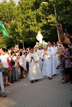Medjugorje, Anniversario Apparizioni 2019: Statua Regina della Pace (5)