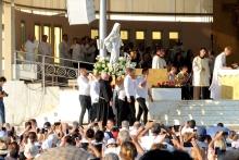 Medjugorje, Anniversario Apparizioni 2019: Statua Regina della Pace (6)